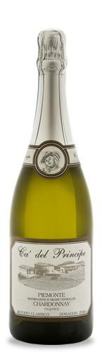 Fotografia bottiglia Piemonte D.O.C. Chardonnay Metodo Classico V.S.Q.P.R.D. Millesimato 2013 Dosaggio Zero