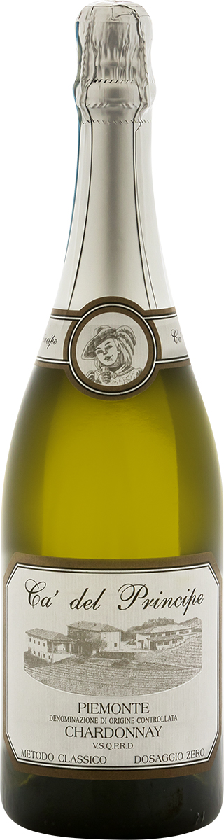 Piemonte D.O.C. Chardonnay Metodo Classico V.S.Q.P.R.D. Millesimato 2014 Dosaggio Zero.