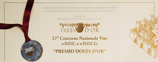 """Douja D'Or award"", 37th national D.O.C. and D.O.C.G. wine competition."