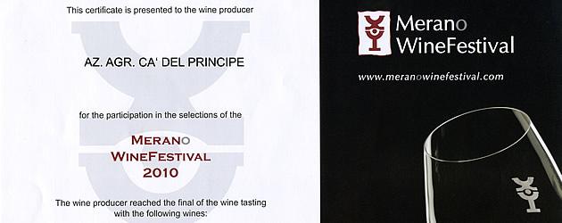 Merano Wine Festival.