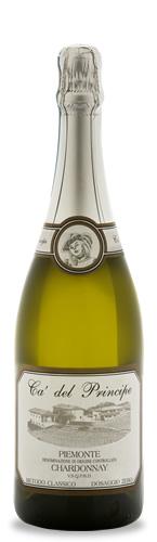 Piemonte D.O.C. Chardonnay Metodo Classico V.S.Q.P.R.D. Millesimato 2013 Dosaggio Zero.