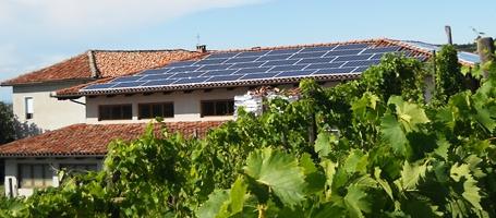 Impianto fotovoltaico.