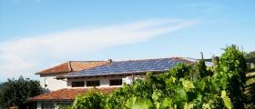 L'impianto fotovoltaico.