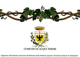 """Città di Acqui Terme"" (city of Acqui Terme), 27th enological competition: merit diploma issued to the wine Muscat of Asti 2006."
