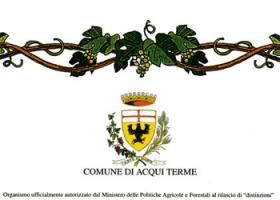 """""""Città di Acqui Terme"""", 27° Concorso Enologico: diploma di merito rilasciato al vino Moscato d'Asti 2006."""