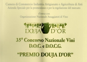 """Douja D'Or award"", 35th national D.O.C. and D.O.C.G. wine competition."
