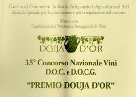 """""""Premio Douja D'Or"""", 35° Concorso Nazionale vini a D.O.C. e a D.O.C.G."""