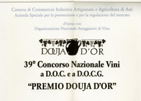 """Douja D'Or award"", 39th national D.O.C. and D.O.C.G. wine competition."