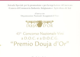 """Douja D'Or award"", 43th national D.O.C. and D.O.C.G. wine competition."